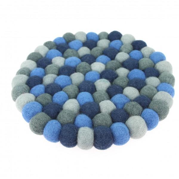 Dessous Décoratif Marine - bleu gris