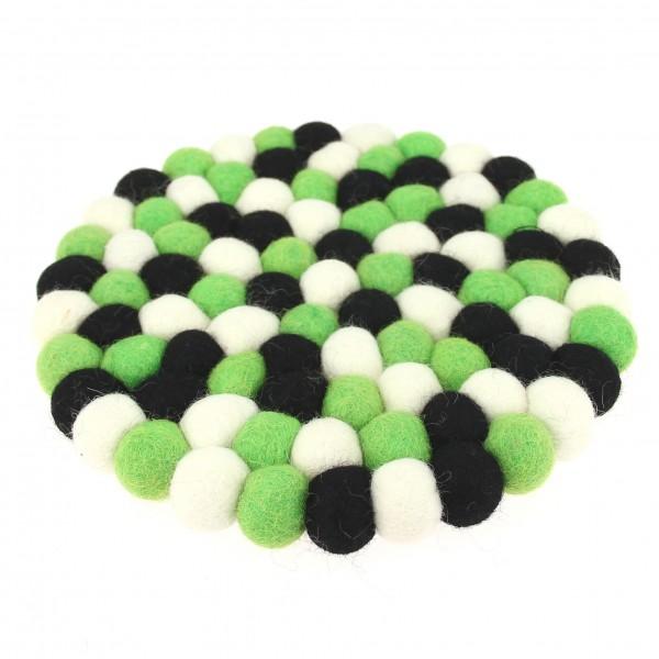 Dessous Décoratif Neon - vert noir blanc