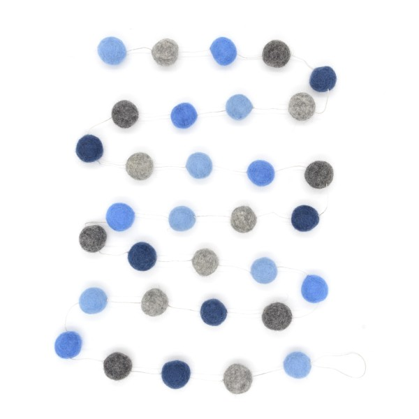 Guirlande décorative Marine2 - bleu gris
