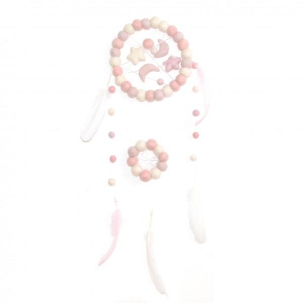 Dreamcatcher - Rosie - rose blanc