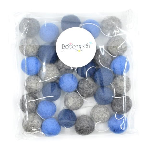 Guirlande personnalisée décorative boules